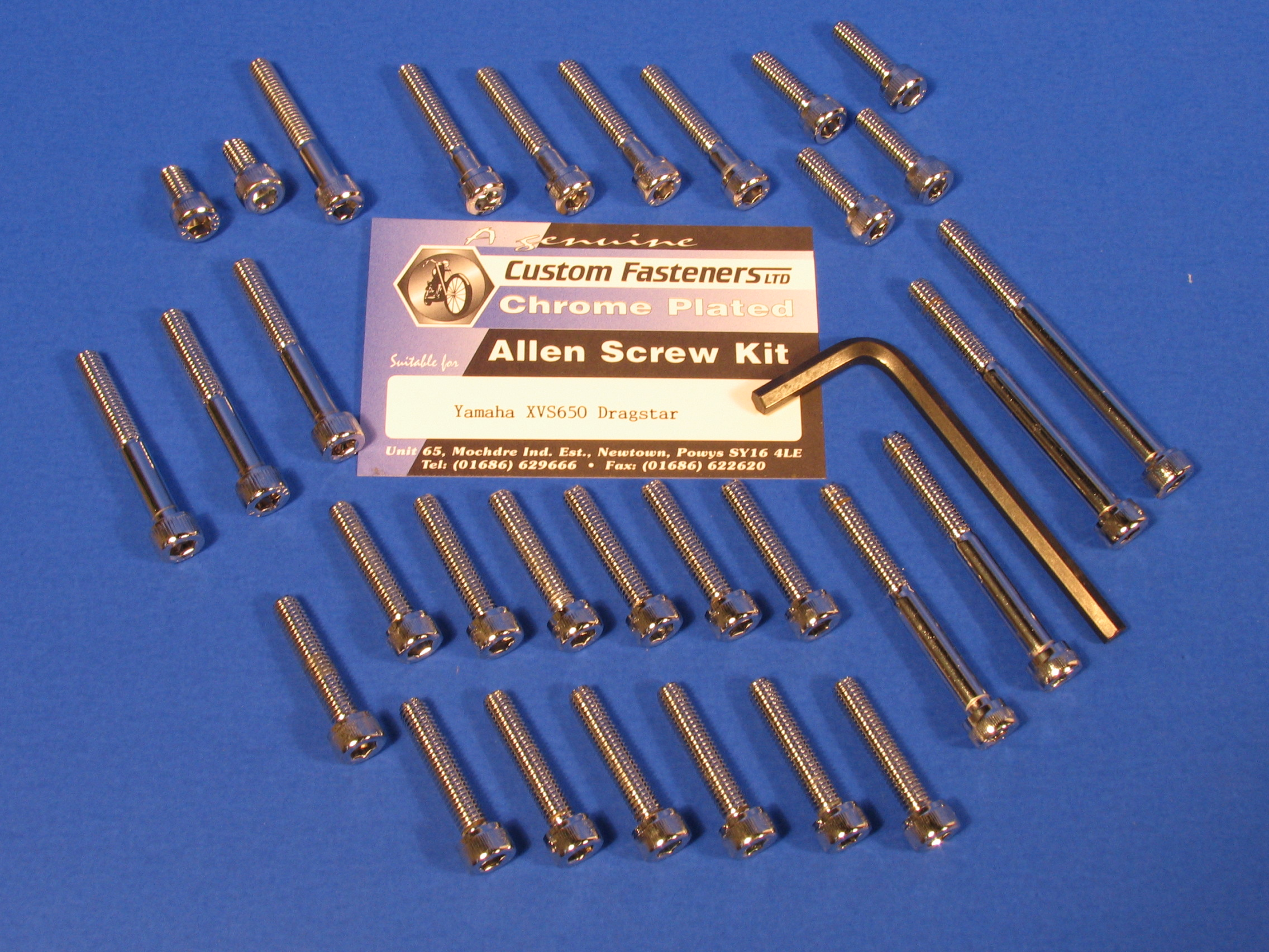 Royal Enfield Allen Screw Kits