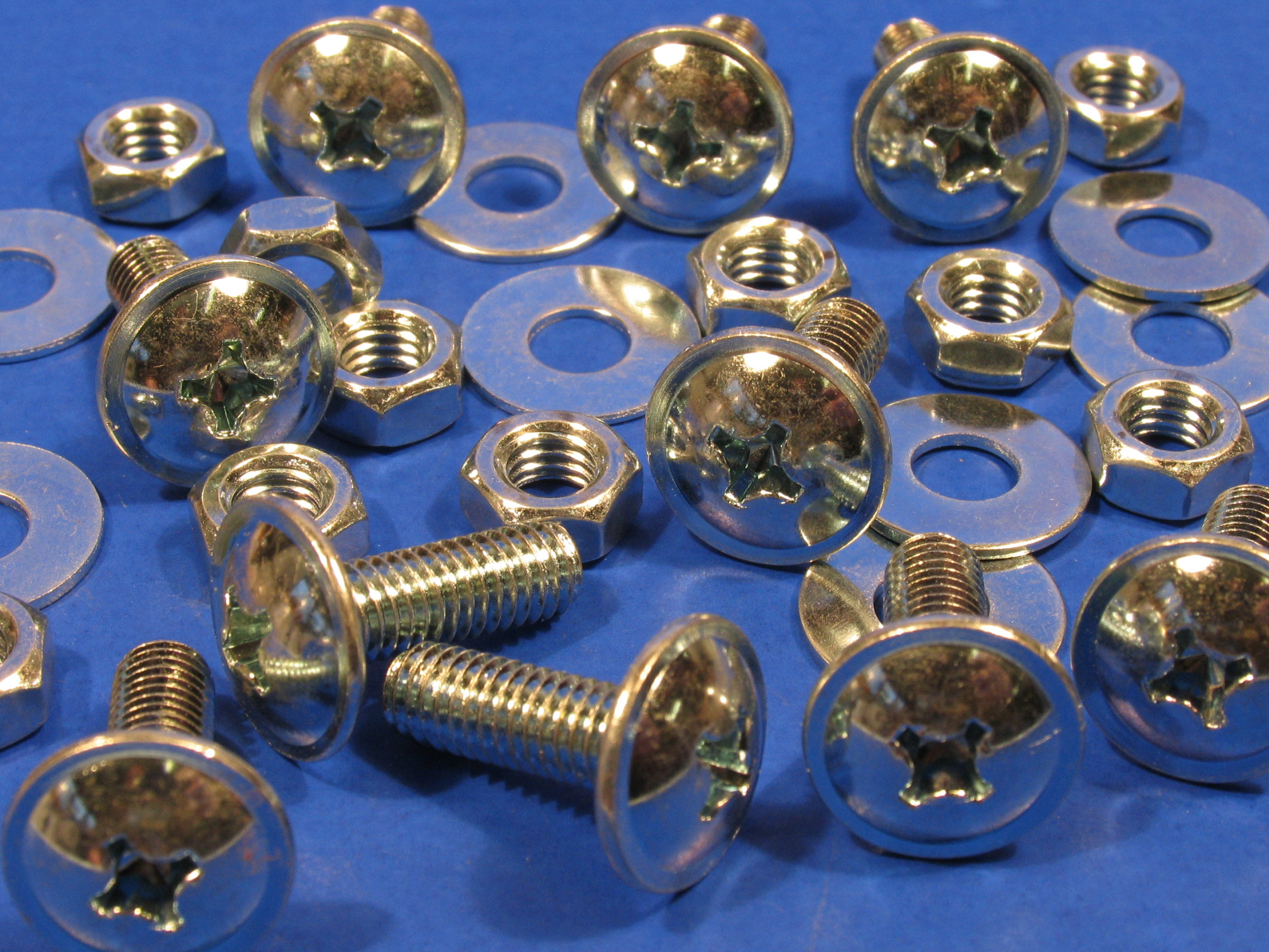 Pozi Head Fairing Screws