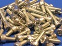 Pack of Assorted Zinc Plated M5 Allen Screws (approx 50 pcs)