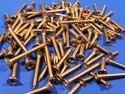 Pack of 100 Assorted Stainless Steel Pozi Countersunk Head Self Tapping Screws