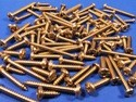 Pack of 100 Assorted Stainless Steel Pozi Pan Head Self Tapping Screws