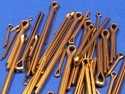 Pack of Assorted Stainless Steel Split (Cotter) Pins (approx 40 pcs)