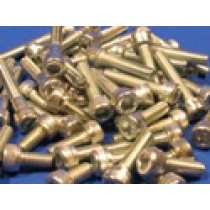 Pack of Assorted Stainless Steel M6 Allen Screws (approx 50 pcs)