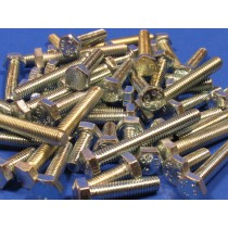 Assorted pack of M8 Hex Head Bolts in Stainless Steel (25 pieces)