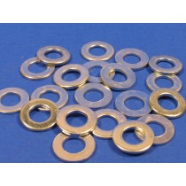 M8 Zinc Plated Flat Washers (pack of 20)