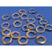 M5 Zinc Plated Spring Washers (pack of 20)
