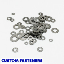 Pack of 100 Assorted Metric Stainless Steel Flat Washers