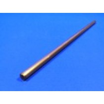 "1/4"" x 12"" Stainless Steel Bright Round Bar"