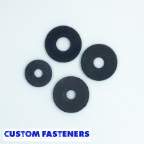 Pack of Assorted Rubber Washers (approx. 40pcs)