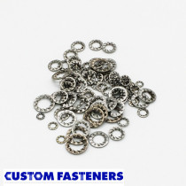 Pack of 100 assorted Metric Stainless Steel Shakeproof Washers