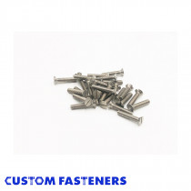 Slotted Countersunk Screw - Stainless Steel