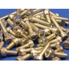 Pack of Assorted Zinc Plated M6 Allen Screws (approx 50 pcs)