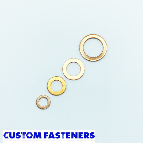 M10 Copper Washer (14mm o.d.)