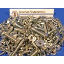 Pack of Assorted Stainless Steel UNF Bolts, Nuts and Washers (approx 240 pcs)